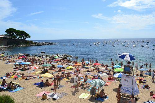 beach sea tanned