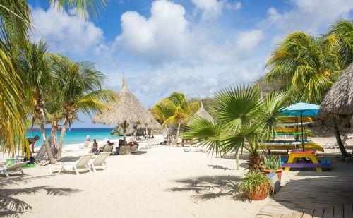beach coastline curacao