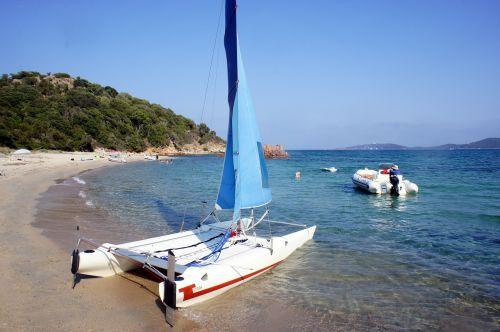 beach sea catamaran