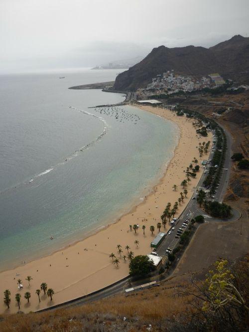 beach teresitas santa