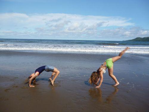Beach Acrobatics