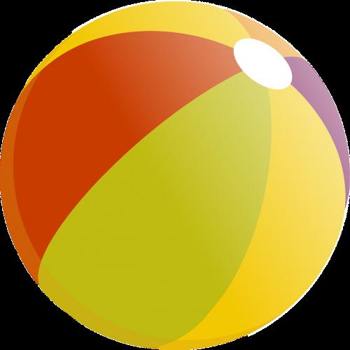 beach ball ball colorful