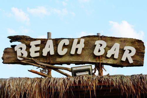 beach bar note shield
