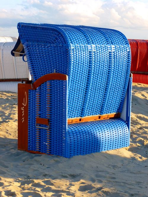 beach chair beach sand