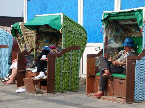 beach chair human leisure