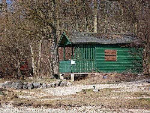 beach hut vacation log cabin