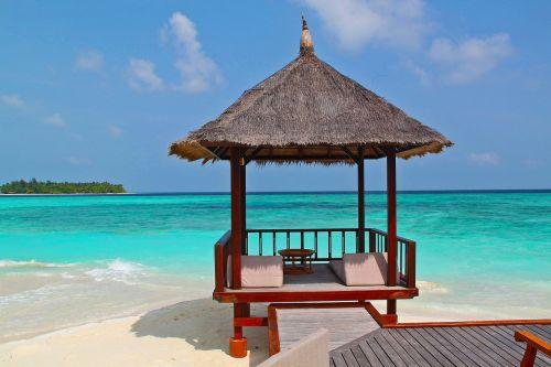 beach hut beach vacation