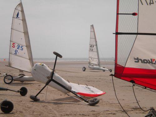 beach sailors north sea holiday