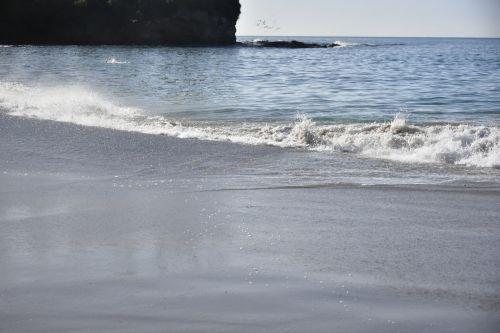 žemas & nbsp, potvynis, vandenynas, papludimys, ne & nbsp, žmonės, plokščias & nbsp, smėlis, nėra bangų, balta & nbsp, naršyti, paplūdimio scenos