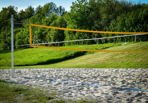 beach volleyball volleyball playing field