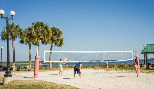 beach volleyball volleyball net pine island