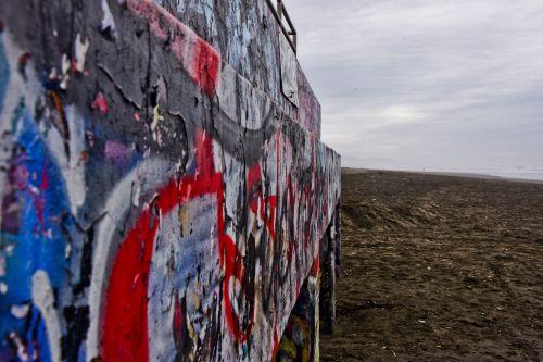 Beach Wall Graffiti