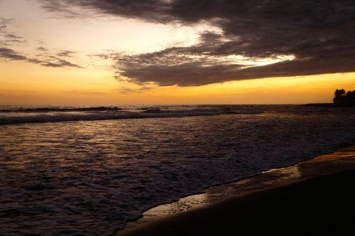beaches freedom sunset
