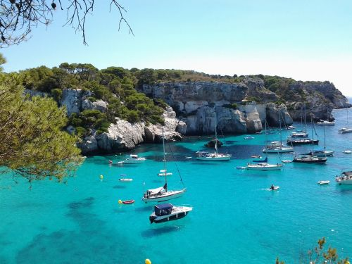 beaches balearic islands minorca