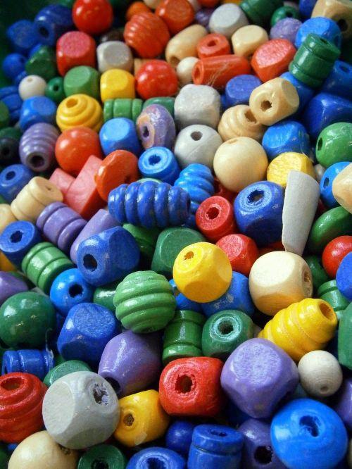 beads wood chain