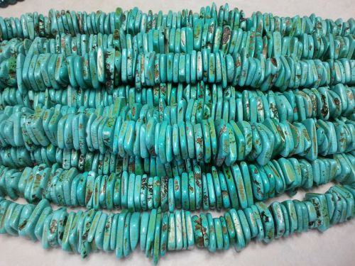 beads turquoise necklace