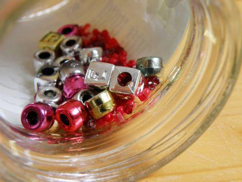 beads jewelry shiny