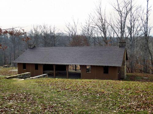 Beanblossom Lake Shelter House