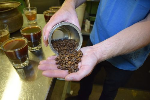 beans coffee brew