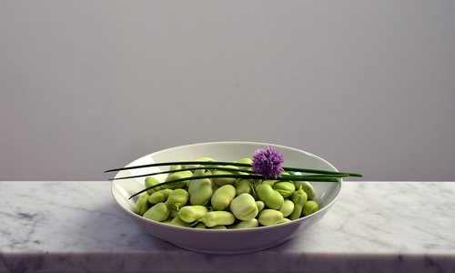 beans  plate  eat