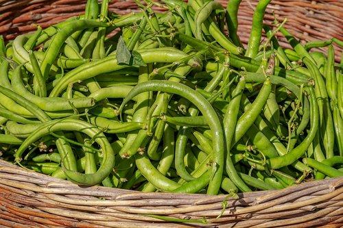 beans  vegetables  basket