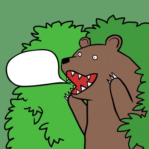 bear bush comics