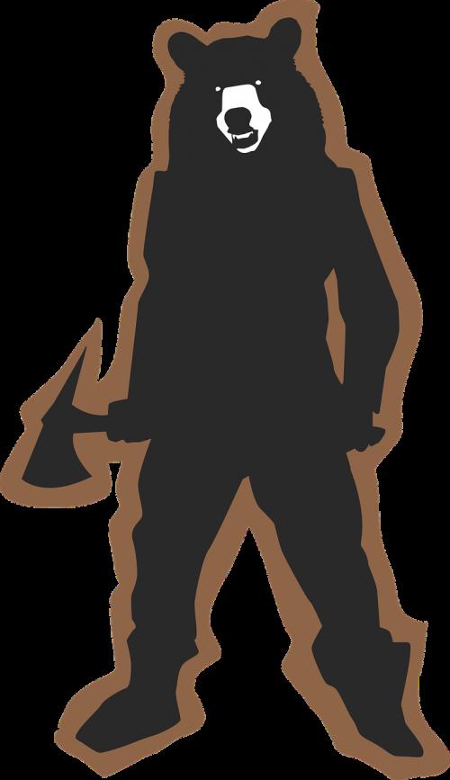 bear black brown