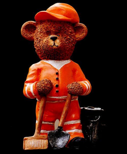 bear profession refuse collector
