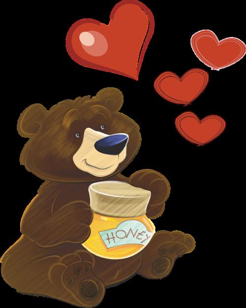 bear heart honey
