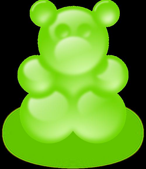 bear green gummy bears