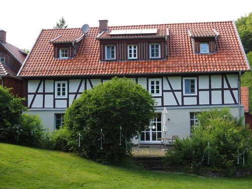 bear mill fachwerkhaus landgasthof