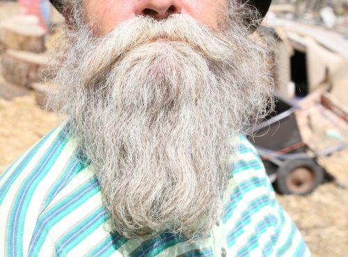 beard black boy