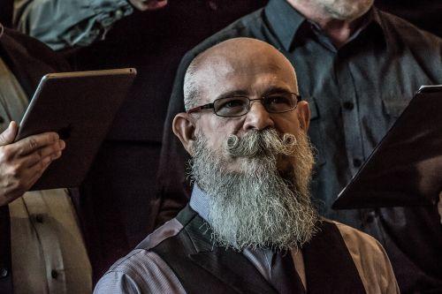 beard facial hair man