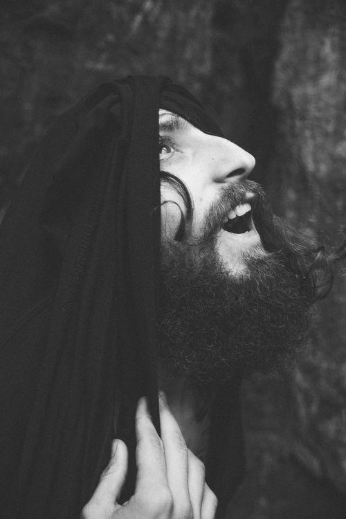 beard prayer delight