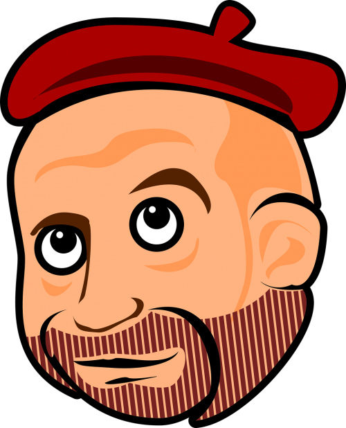 bearded beret cara