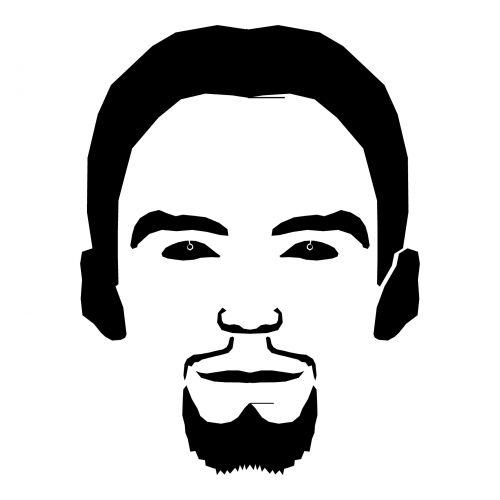 Bearded Man Face