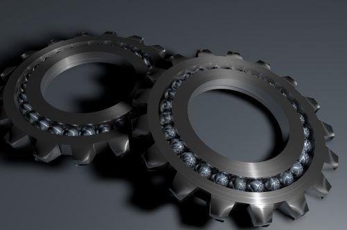 bearing gear rack metal