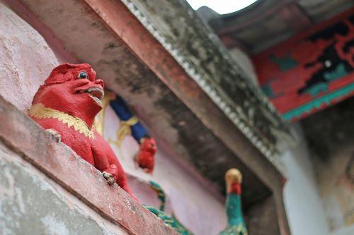 beast wall china
