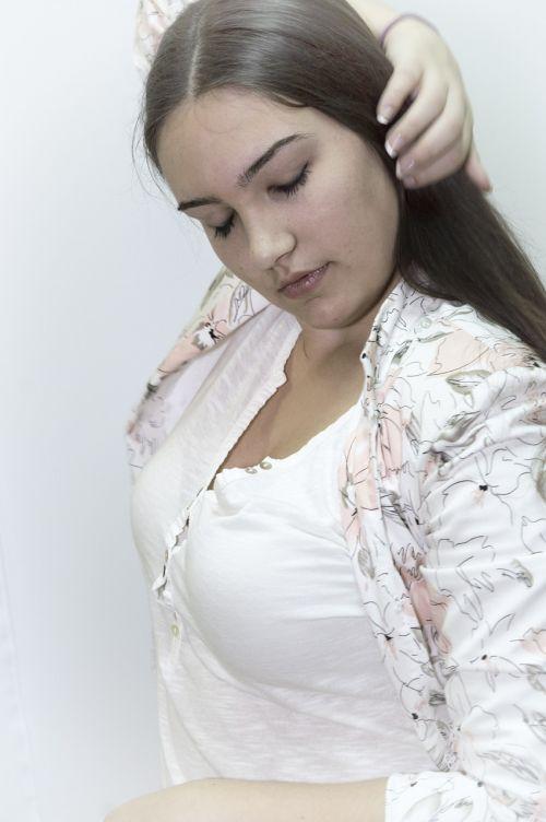 beautiful beauty model