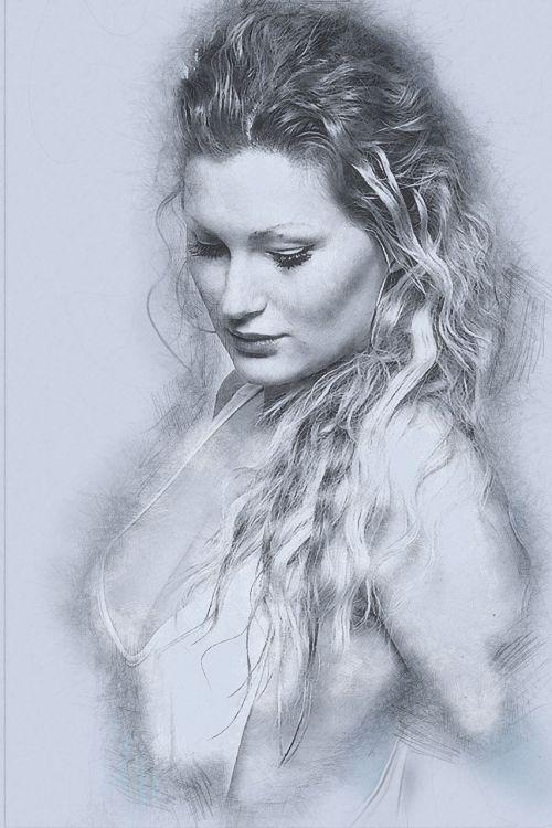 beautiful woman girl
