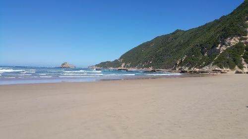 beautiful beach serene