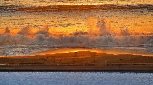 beautiful evening sunset vision