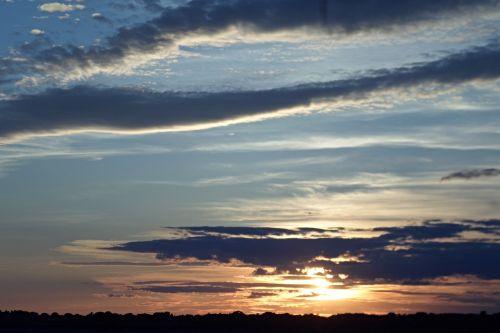beautiful sky clouds blue sky