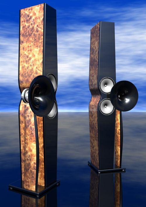 beautiful speaker reader project horn loudspeaker