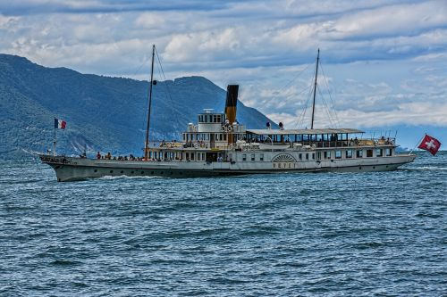 beautiful steam ship paddle steamer steamboat