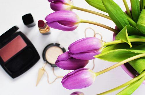 beauty cosmetics flowers