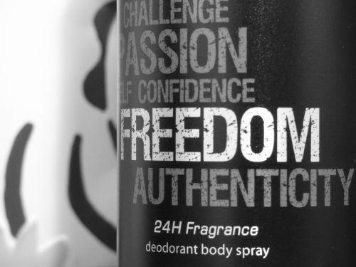 beauty product freedom the smell of