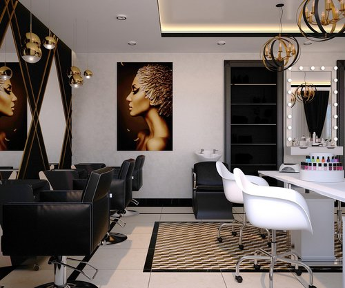 beauty salon  barber  nail salon