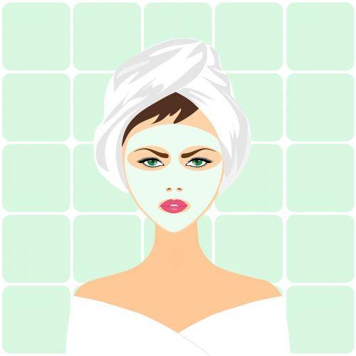 beauty treatment face mask spa