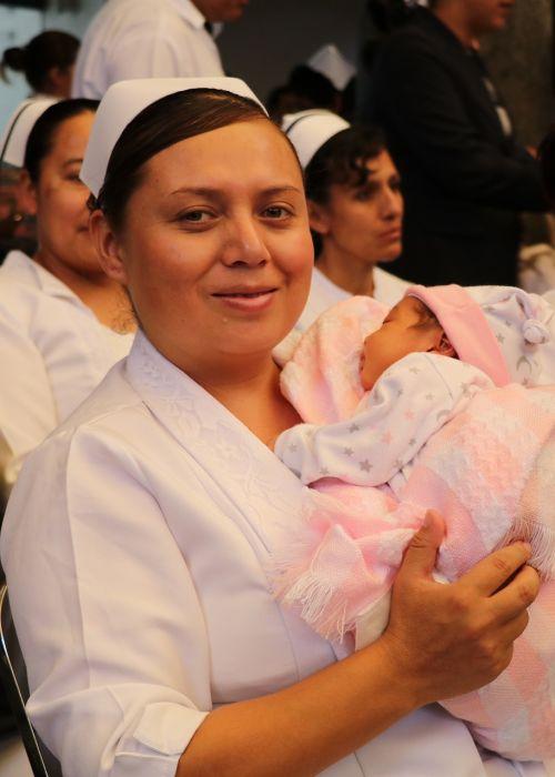 bebe nurse girl